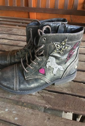 Justice Girls Boots Sz 7 for Sale in Los Angeles, CA