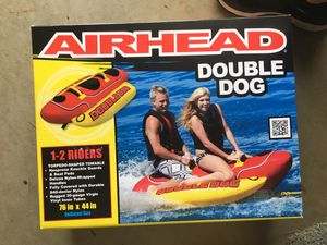 Airhead double dog 2 seater boat tube. for Sale in Jackson Township, NJ