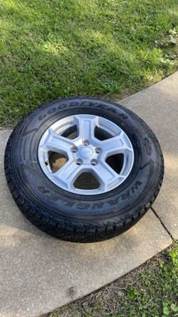 2020 JEEP WHEEL...5x5 245/75R17...ONLY ONE for Sale in Silver Spring,  MD