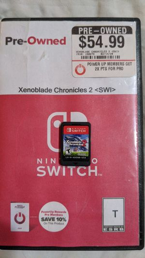 Xenoblade Chronicles 2 Switch for Sale in Houston, TX