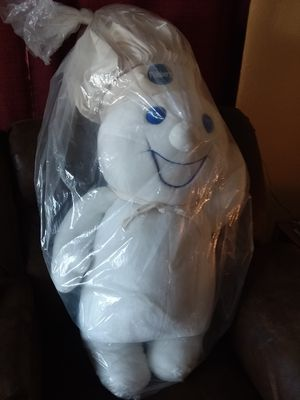 1998 3 1/2 foot tall MINT CONDITION Pillsbury doughboy plush Doll for Sale in Forest City, IL