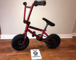Mayhem Riot Mini BMX Trick Bike (Ricochet Red) for Sale in Marietta, GA