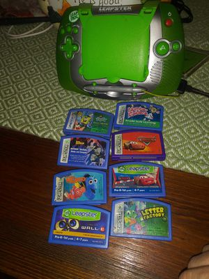 Leapster and games for Sale in Columbus, OH