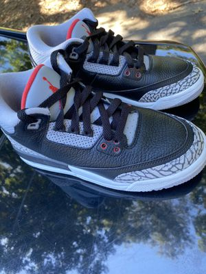 Jordan Retro 3 Black Cement for Sale in Atlanta, GA