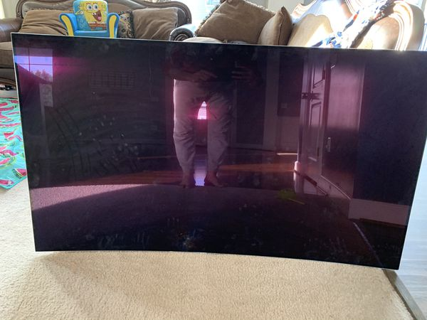 """LG 65"""" OLED with cracked screen"""