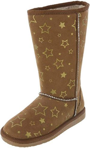 Airwalk Girls' Emma Star Cozy Boot Tan Brand New for Sale in North Chesterfield, VA