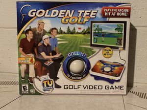 Golden Tee Golf Plug & Play Game Jakks Pacific Arcade TV Golf Game *New for Sale in Cleveland, OH