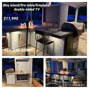 Bbq islands barbecue island patio furniture barbeque grills for Sale in Riverside, CA