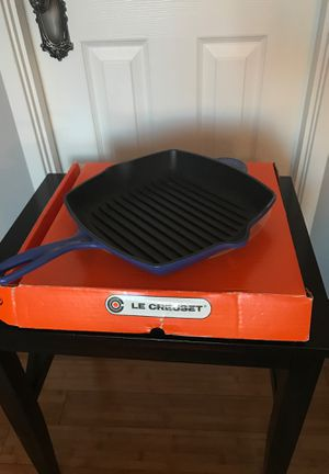 "Le Creuset cast iron skillet 18"" for Sale in McLean, VA"