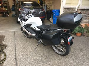 BMW motorcycle gt800 2014. Excellent condition for Sale in Ridgefield, WA