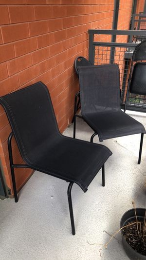 Patio Chairs (2) + Table for Sale in Washington, DC