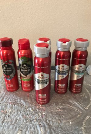 Old spice body spray $3.50 each for Sale in Los Angeles, CA