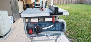 Table saw Bosch for Sale in Fort Lauderdale, FL