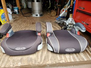 Graco booster seats. $10 each or both for $15 for Sale in Rock Hill, SC