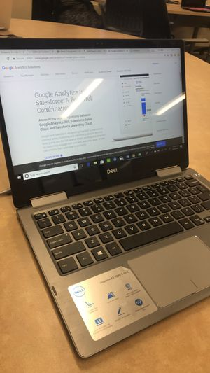 Dell Inspiron 2-in-1 plus a bamboo ink pen for Sale in La Crosse, WI