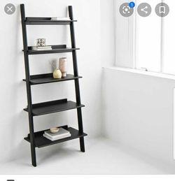 Black ladder shelf for Sale in Ontarioville,  IL