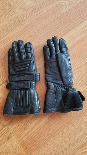 Leather gloves (motorcycle) - Winter for Sale in Odenton, MD