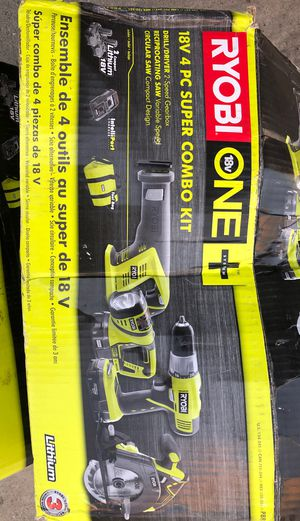 Ryobi set for sale only thing missing is flashlight for Sale in South Gate, CA