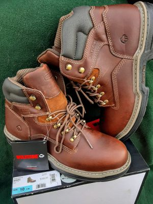 Wolverine work boots (size 10) for Sale in Fresno, CA