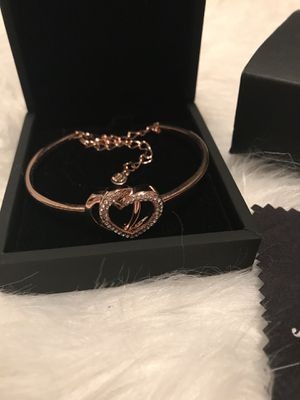 JNINA Trendy Crystal Jewelry Rose Gold Bracelet for Sale in Nashville, TN