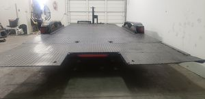 2012 all steel hydraulic tilt car project trailer for Sale in Phoenix, AZ