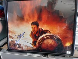Russell Crowe Gladiator Autographed Photo for Sale in Toms River, NJ
