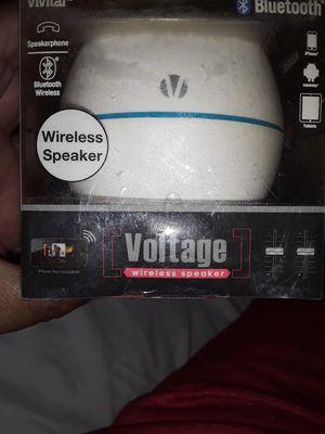 Voltage wireless speaker for Sale in Tampa, FL