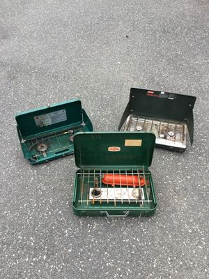 Coleman camping camp stove for Sale in Concord, MA