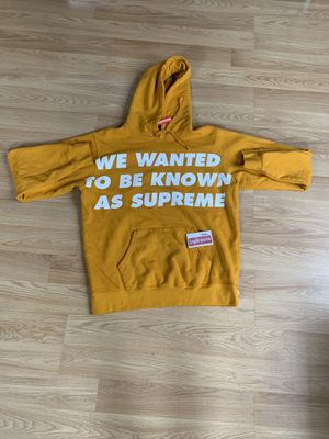 Supreme Known As Hoodie Gently used with tag for Sale in Roseville, CA