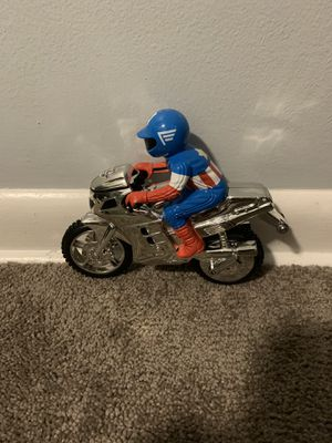 Captain America Marvel Universe Live Avengers Toy Bike for Sale in Elgin, IL