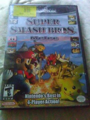 GameCube Super Smash Bros. Melee Nintendo's best 4 player action for Sale in Seattle, WA