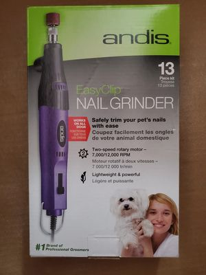 Brand NEW in box ANDIS EASYCLIP PET NAIL GRINDER Kit for Sale in Carlsbad, CA