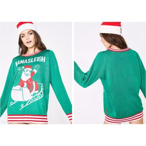 Tipsy Elves Namasleigh Ugly Christmas Sweater for Sale in Houston, TX