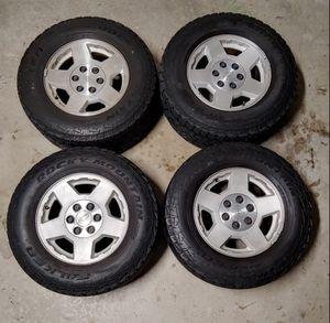 Chevy Silverado wheels tires LT265/70R17 rims for Sale in Rancho Cucamonga, CA