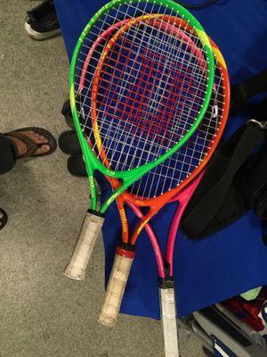 Kids Wilson tennis rackets for Sale in San Diego, CA
