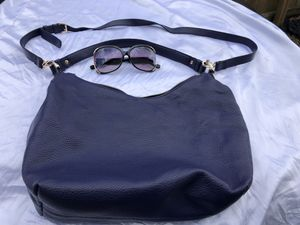 (Lightly-Used) Blue over the shoulder purse for Sale in Marrero, LA