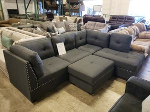 Brand New Sectional Sofa and ottoman tax included and free delivery for Sale in Hayward, CA
