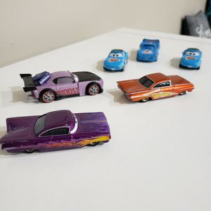 Disney, Cars, Dinoco, 6 Toy Car Set for Sale in Fort Lauderdale, FL