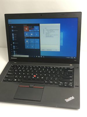 Lenovo thinkpad T450 Intel i5 - 6300U CP @ 2.3GHz 8 GB Ram for Sale in Everett, MA