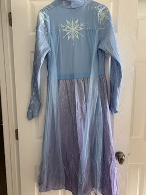Frozen II Elsa Costume size Adult - Medium for Sale in Coral Springs, FL