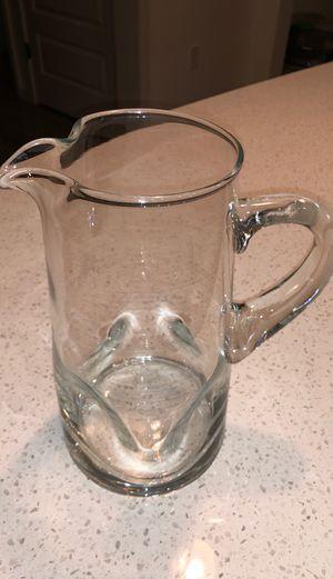 Glass Water Jar for Sale in Orlando, FL