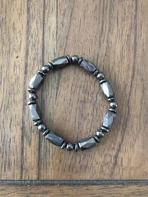 New Magnetic Hematite Stretch Bracelet for Men - Woman (Nuevo). for Sale in Palmdale, CA