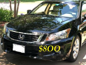 🔴📗URGENTLY 💲8OO FOR SALE 2OO9 Honda Accord Sedan EX-L V6 Clean title Runs and drives very smooth.📗🔴 for Sale in Oklahoma City, OK