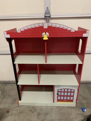 Fireman bookshelve And lamp for Sale in Bothell, WA