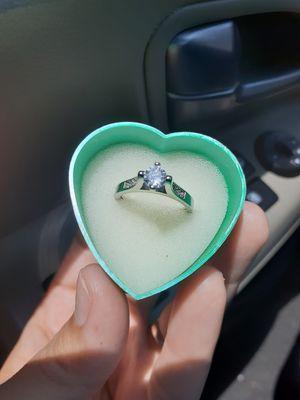 Size 7 silver ring de plata for Sale in Houston, TX