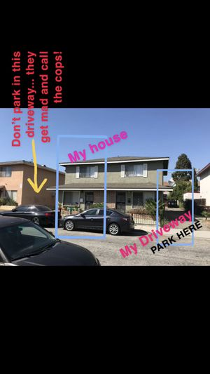 MAKE SURE U PARK IN MY DRIVEWAY WHEN PICKING UP!! for Sale in El Monte, CA