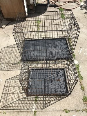 DOG CRATES SMALL AND LARGE for Sale in Alameda, CA
