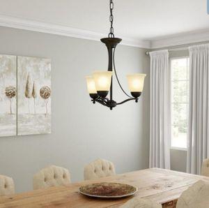 3 Light Rustic Chandelier for Sale in Pembroke Pines, FL