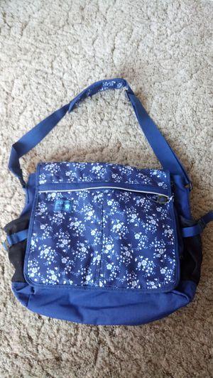 Gap Girls Blue Floral Messenger Bag for Sale in Lexington, MA