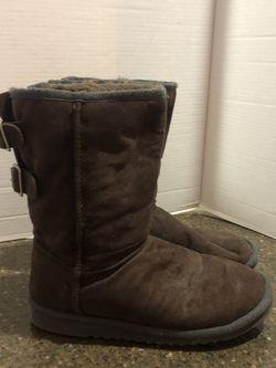Aeropostale Women's Brown Ugg Like Boots Size 9 for Sale in Manassas,  VA